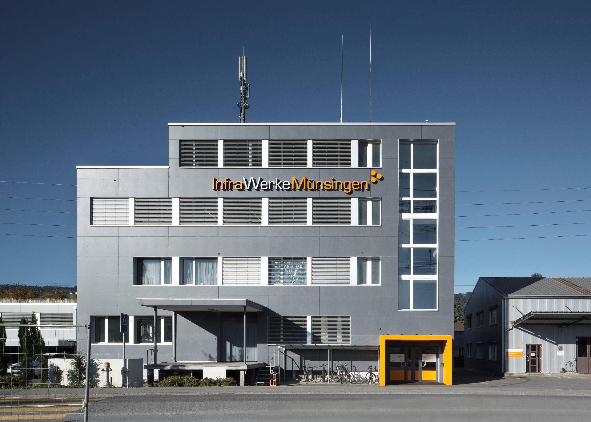 Aeschistrasse m nsingen h r architekten ag for Architekten schweiz